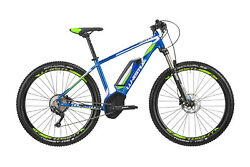 Electric Bike Ebike Unisex Mountain Bike 2019 Whistle B-Ware HF 400W Bosch Blue