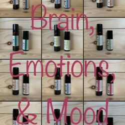MENTALITY Collection Essential Oil Rollers for Mood and Brain ~U PICK~ B3G1 FREE