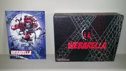 Monster High Sdcc 2013 Webarella Plus Power Ghoul Dolls And Signed Print
