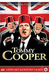 Tommy Cooper Collection NEW PAL Classic 6 DVD Set Royston Mayoh $42.99
