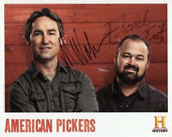 Mike Wolfe+frank Fritz Authentic Signed 8x10 Color Photo    American Pickers