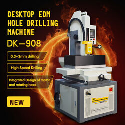SFX 240V 3 Phase DK-908  EDM Small Hole Drilling Machine 0.012''~0.118'' In US
