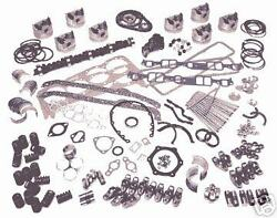 Ford Model B Deluxe Engine Kit 1932-33 Pistons Rings Gaskets Gears Lifters Valve
