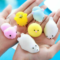 Squishys Toys Party Favors For Kids - Squishys 50pack Squishie Animal Toys