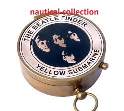The Beatle Finder Antique Brass Compass Collectable Gift
