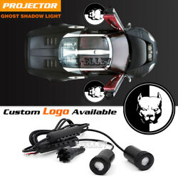 The American Pit Bull Terrier Logo Car Door Welcome Projector Ghost Shadow Light