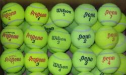400 Used Tennis Balls Mixed Brands. High Grade, Used Indoor Tennis Club