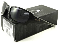 NEW OAKLEY FIVES SQUARED SUNGLASSES OO9238 04 POLISHED BLACK WARM GREY $56.89
