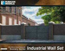 Rubicon Models Industrial Wall Set 1:56th scale 28mm