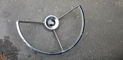1964 Ford Fairlane 500 Horn Ring Fits 1960 - 63 Fairlane Or Falcon Used
