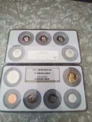 Icg 2005 S Silver Proof U.s.a. Proof Coin Set Pf70 Ultra Cameo 11 Coins