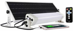 24in 24w Led Solar Light Kit 2500lm Dusk To Dawn Indoor Or Outdoor Light