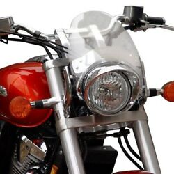 National Cycle - N2536 - Flyscreen, Fork Mount - Light Tint Ducati,harley-davids