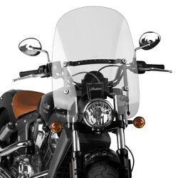 National Cycle - N21203 - Spartan Quick Release Windshield Clear Hondaindians