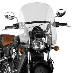National Cycle - N21303 - Spartan Quick Release Windshield Clear Hondaindians