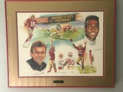 Montana To Rice Classic Lithograph