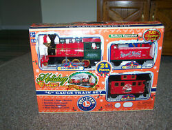 Lionel G-gauge Holiday Christmas Train Set Battery Operated 62060 Musical