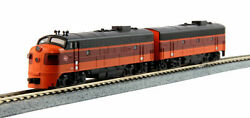 Kato 1060431dcc N Emd Fp7a And F7b Milwaukee Road A/b Set 90a And 90b 106-0431-dcc
