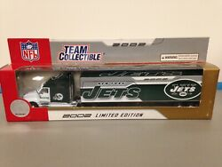 2002 New York Jets 180 Replica Diecast Tractor Trailer Collectible Truck