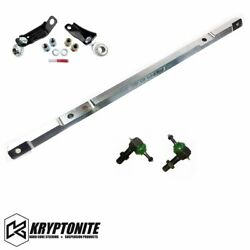 Kryptonite Ss Center Link Upgrade With Pisk Kit For 01-10 Chevy/gmc 2500 3500