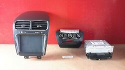 2011-2019 Dodge Journey Information Display Screen Radio Climate Control Set OEM