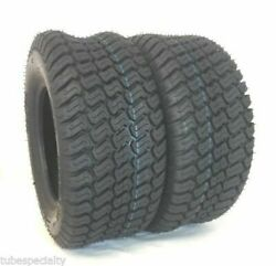Two 20x10x8 Tire Fits Craftsman Lawn Tractor Riding Mower 4ply 20x10-8