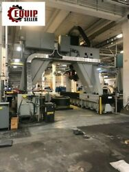 2009 Flow 4 Spindle Multi-Axis CNC Gantry Drill Perforation Milling Machine.