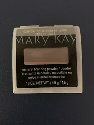 MARY KAY MINERAL BRONZING POWDER ~ CANYON GOLD LOT OF 3