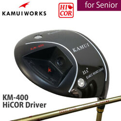 for SENIOR 2019 Kamui Works Golf Japan KM-400 HiCOR Driver 1W DODECAGON R2 19ss
