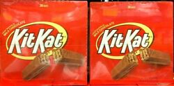 2 Packs Kit Kat Milk Chocolate Wafer Bars 36 CT 54 OZ Each Pack
