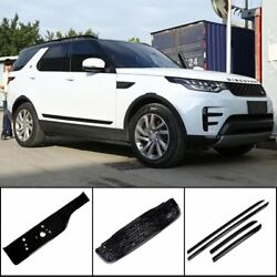 Grill Door Body Trim Tail Gate License For Land Rover Discovery 5 2017-19 Black