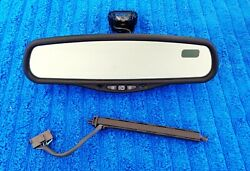 Factory 98-02 Continental GNTX-221 Compass Auto Dimming MAP LED Rear View Mirror