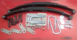 3500 2- 1750 Springs Axle Suspension Kit For Single Axle Trailer Replace 2