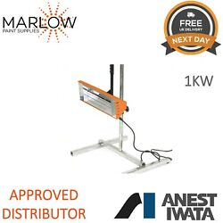 Anest Iwata 1kw Handheld Infrared Lamp With Stand Paint Dryer Smart Heat Lamp
