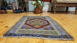 Bohemian Antique Turkish Tribal Rug 1and03910 Andtimes 2and03910