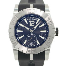 Free Shipping Pre-owned ROGER DUBUIS New Easy Diver Automatic Limited Edition