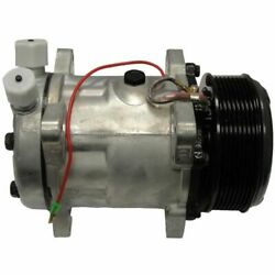 NEW AC Compressor for Ford New Holland Tractor TM165 TM175 TM190 TV140 TV145