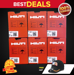 Hilti Gx 120 Or Gx 3 Pins And Gas 6 Boxes 3/4 Pins Free Hat Fast Shipping