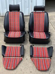 Porsche Beautiful Seats For 911, 912, or 356, Full Set