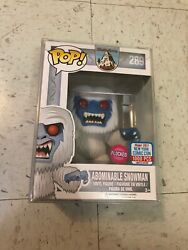 Nycc 2017 Exclusive Disney Flocked Abominable Snowman Funko Pop Le 1000