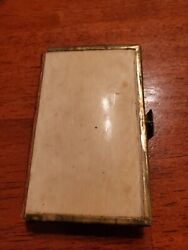 The Book Of Common Prayer Printed By Ge Eyre And W Spottiswoode Celluloid Cover