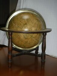 Bardin Celestial Globe, Dated 1800  Stunningly Beautiful With Sea Monsters...