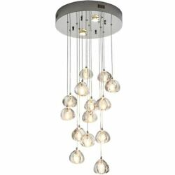 Droplight Lighting Sing Hall Coffee Clothing Store LED Chandelier Lamp Light