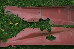 Chrysler Cd8 Engine Side/dust Pans-pair Very Hard To Find Good Condition