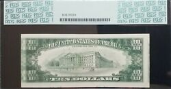 1985 10 Frn 《misaligned Face And Tripled Impressions On Back》pcgs 58 Ppq Nice