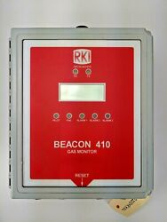 Rki Instruments Beacon 410 Four Channel Fixed System Gas Detection Controller