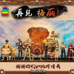 Jacksdo One Piece Good-bye To The Merry Resin Statue Limited Model Instock