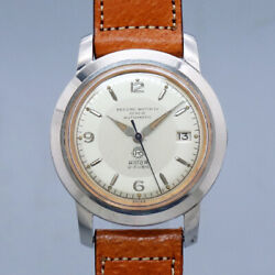 Free Shipping Pre-owned Record Watch Co Geneve Click Wheel Type Antique Watch