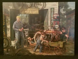 The Gift Bob Byerley Sold Out Limited Edition Canvas Personally Enhanced