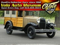 1930 Ford Model A Station Wagon MARC Of Excellence Show Winner